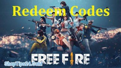 Photo of Garena Free Fire redeem codes for October 17, 2021: Garena Free Fire Rewards
